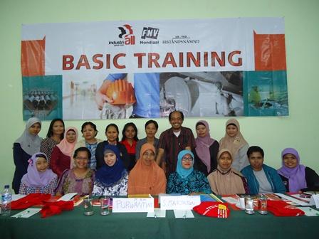 Basic Training (Woman Only) 4-6 Oktober 2012