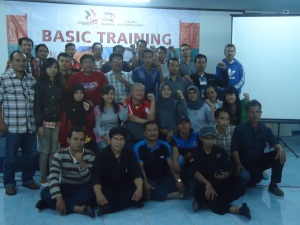 Basic Training, Bogor 24-26 February 2013